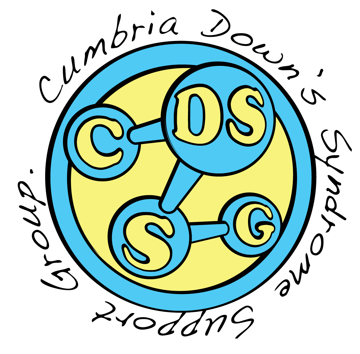 Cumbria Down's Syndrome Support Group logo