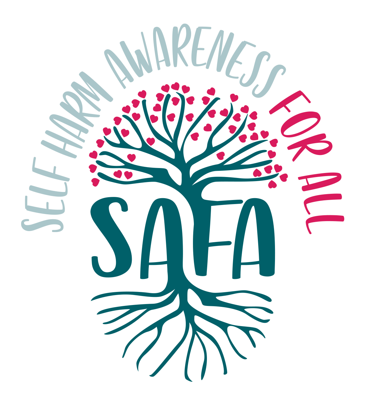 SAFA Self-Harm Awareness For All Cumbria logo